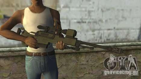 Piers Nivans Rifle from Resident Evil 6 для GTA San Andreas третий скриншот