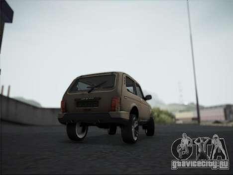 Lada Urdan для GTA San Andreas вид справа