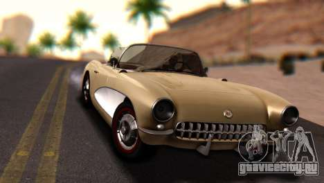 Chevrolet Corvette C1 1962 Dirt для GTA San Andreas вид справа