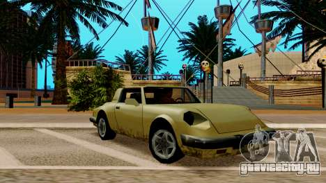 ENB для слабых и средних ПК SA:MP для GTA San Andreas седьмой скриншот