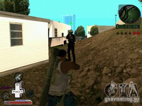 C-HUD Optiwka для GTA San Andreas четвёртый скриншот
