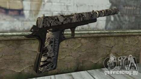 Новый Пистолет с Глушителем для GTA San Andreas второй скриншот