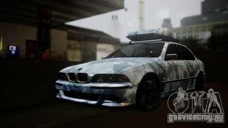 BMW M5 E39 Camouflage для GTA San Andreas