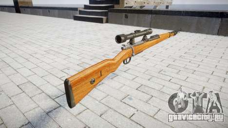 Магазинная винтовка Karabiner 98k для GTA 4 второй скриншот