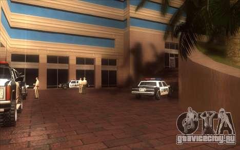 Оживление LVPD для GTA San Andreas четвёртый скриншот