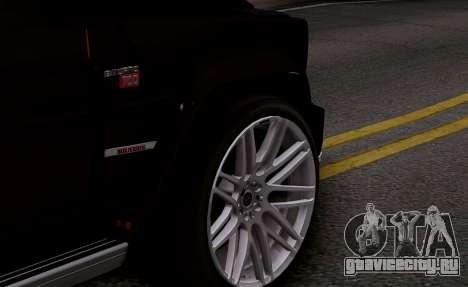 Brabus 700 для GTA San Andreas вид сзади