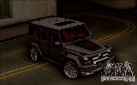 Brabus 700 для GTA San Andreas вид сзади слева