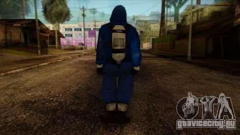 Scientist from Prototype 2 для GTA San Andreas второй скриншот