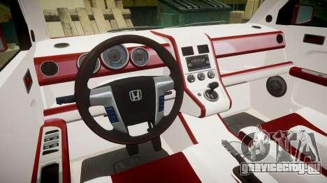 Honda Element 2005 для GTA 4 вид сзади