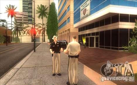 Оживление LVPD для GTA San Andreas второй скриншот