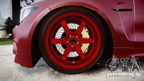 BMW 1M 2011 для GTA 4 вид сзади