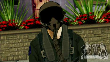 USA Jet Pilot from Battlefield 4 для GTA San Andreas третий скриншот