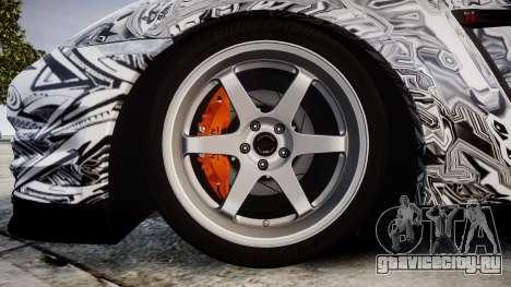 Nissan GT-R R35 2012 Sharpie для GTA 4 вид сзади