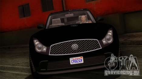 Fathom FQ2 from GTA 5 для GTA San Andreas вид сзади слева