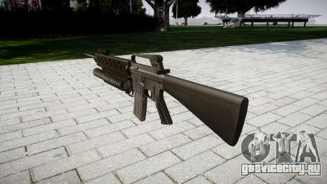 Винтовка M16A2 M203 sight4 для GTA 4 второй скриншот