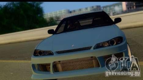Nissan 180SX LF Silvia S15 для GTA San Andreas вид слева