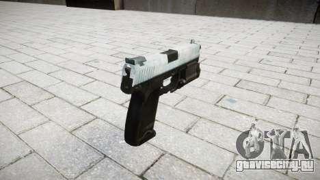 Пистолет HK USP 45 icy для GTA 4 второй скриншот