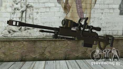 Piers Nivans Rifle from Resident Evil 6 для GTA San Andreas