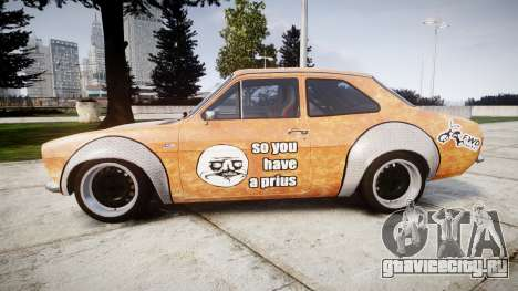 Ford Escort Mk1 Rust Rod v2.0 для GTA 4 вид слева