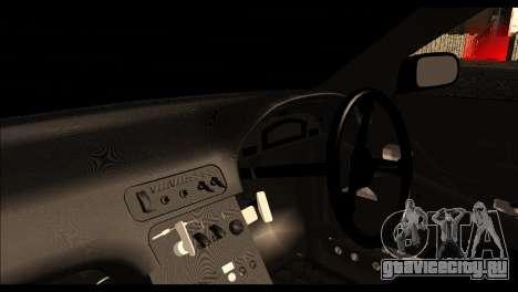 Nissan 180SX Monster Energy Spoiler для GTA San Andreas вид справа