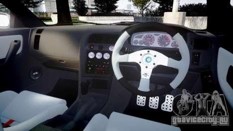 Nissan Skyline GT R33 1996 для GTA 4 вид сбоку