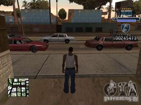 Police HUD для GTA San Andreas