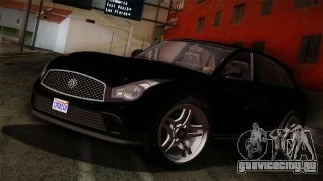 Fathom FQ2 from GTA 5 для GTA San Andreas
