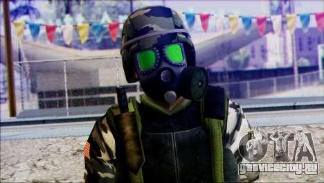 Hecu Soldier 2 from Half-Life 2 для GTA San Andreas третий скриншот