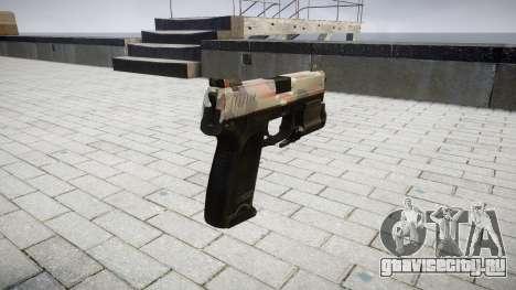 Пистолет HK USP 45 berlin для GTA 4 второй скриншот