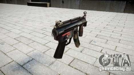 Пистолет-пулемёт MP5K для GTA 4 второй скриншот