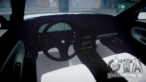 Nissan 240SX 1994 [EPM] для GTA 4 вид изнутри