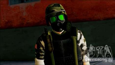 Hecu Soldier 1 from Half-Life 2 для GTA San Andreas третий скриншот