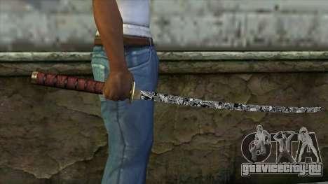 Новая Катана для GTA San Andreas третий скриншот