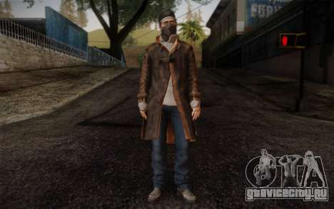 Aiden Pearce from Watch Dogs v6 для GTA San Andreas