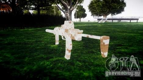 Пистолет-пулемёт HK MP7 Devgru для GTA 4 второй скриншот