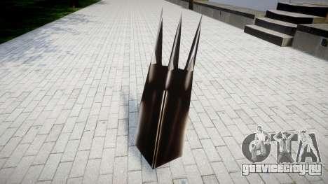 Чёрный коготь WarGreymon для GTA 4