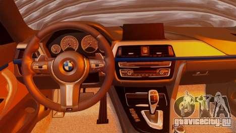 BMW 435i для GTA San Andreas вид сзади слева