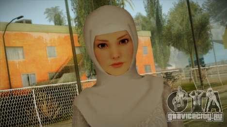 Kebaya Girl Skin v2 для GTA San Andreas третий скриншот