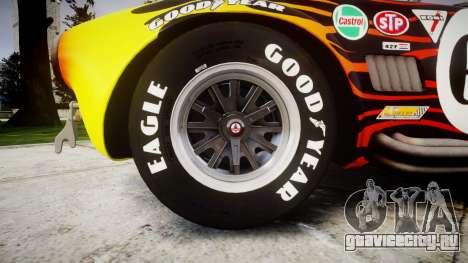 AC Cobra 427 PJ2 для GTA 4 вид сзади