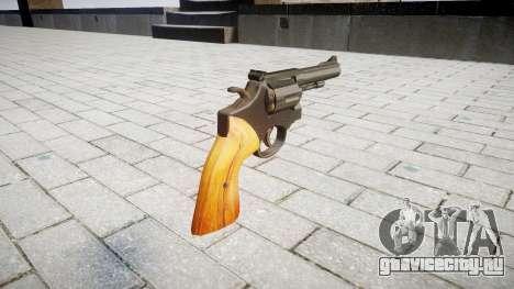 Револьвер Smith & Wesson для GTA 4 второй скриншот