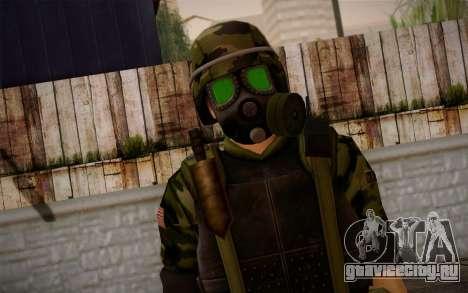 Hecu Soldier 3 from Half-Life 2 для GTA San Andreas третий скриншот