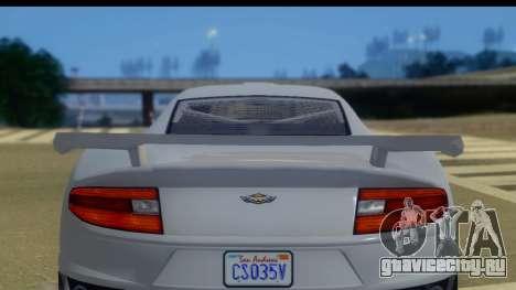 GTA 5 Dewbauchee Massacro IVF для GTA San Andreas вид справа