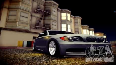 BMW 135i для GTA San Andreas вид сбоку