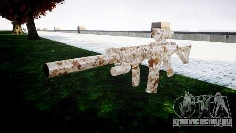 Автомат M4 Devgru target для GTA 4