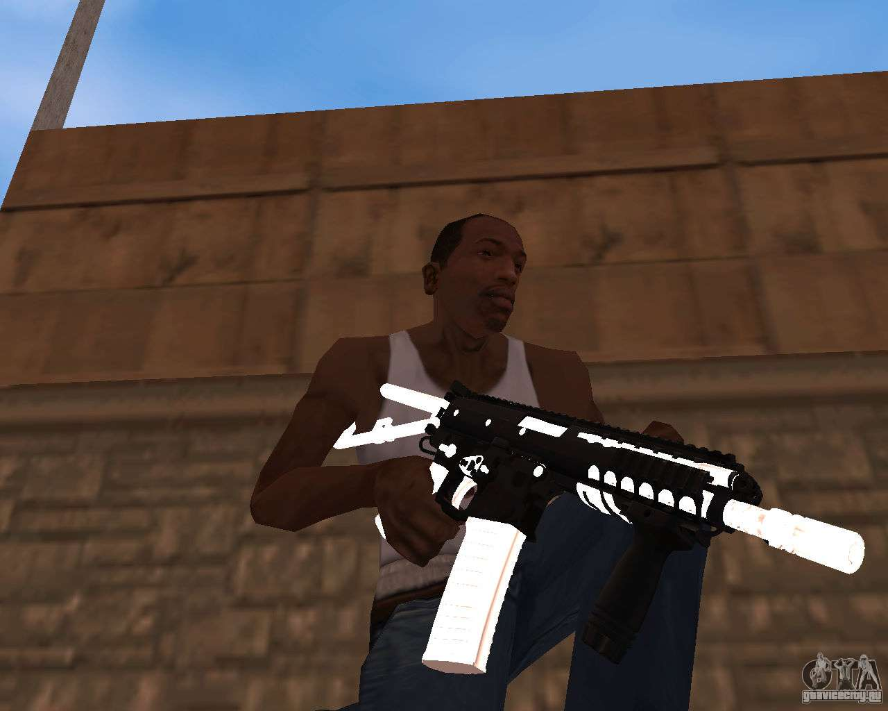Gun-pack для gta san andreas