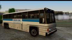 Coach с 3D интерьером для GTA San Andreas