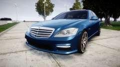 Mercedes-Benz S65 W221 AMG v2.0 rims2 для GTA 4