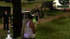 C-HUD Optiwka для GTA San Andreas
