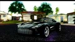 Aston Martin One-77 Beige Black