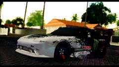 Nissan 180SX Monster Energy Spoiler для GTA San Andreas
